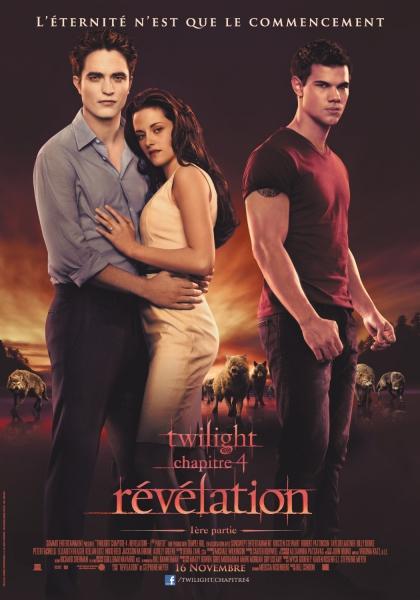 Twilight - Chapitre 4 : Révélation 1ère partie (2011)